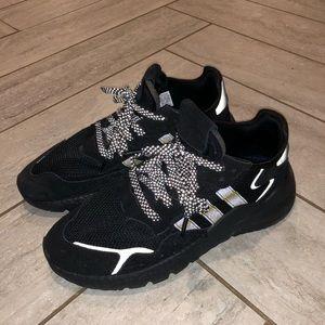 Adidas Nite Jogger Boost Core Black / Carbon Mens